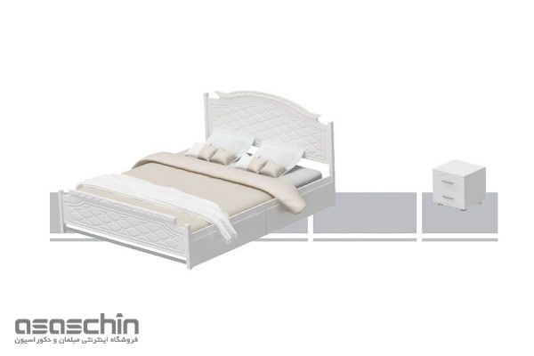 تخت خواب دو نفره آدرین