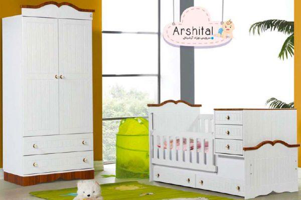 سرویس خواب نوزاد آرشیتال