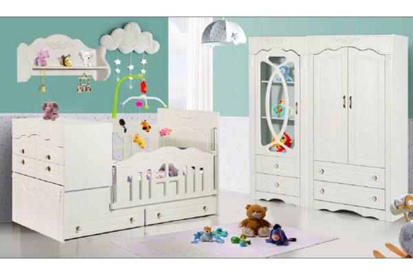 تخت خواب نوزاد آرمیتا