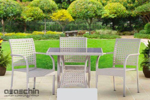 میز و صندلی باغی آلبا