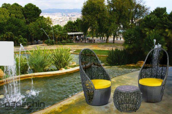 میز و صندلی باغی آلوارو