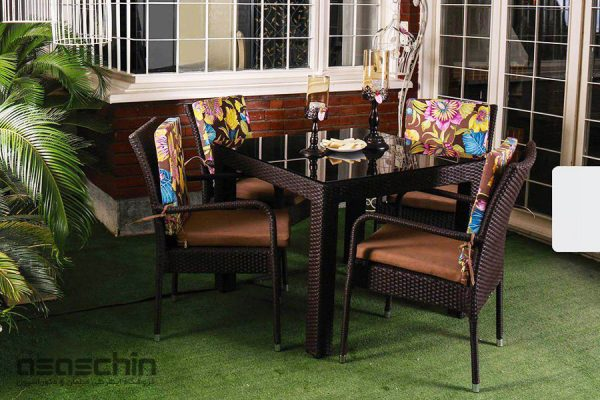 میز و صندلی باغی آلیس