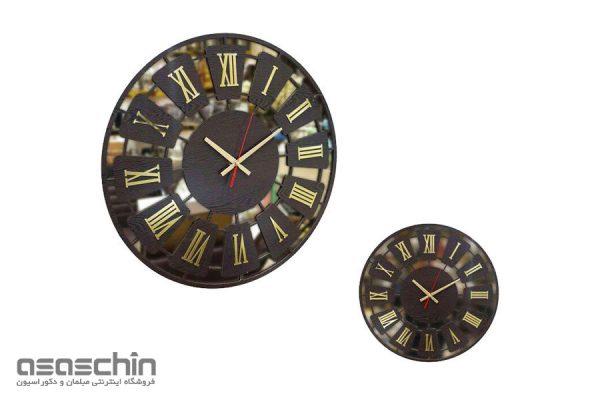 ساعت دیواری پرنس آینه ای