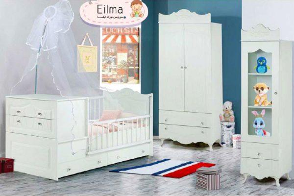 تخت خواب نوزاد ایلما