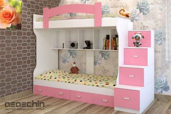 تخت خواب دو طبقه بتا