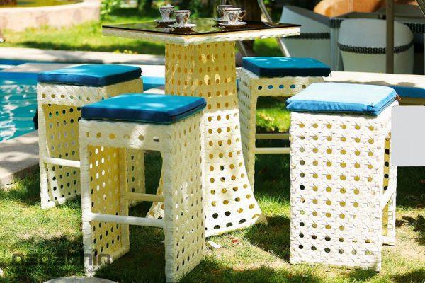 میز و صندلی باغی بردیا