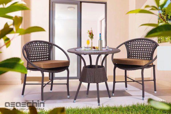 میز و صندلی باغی برنلی