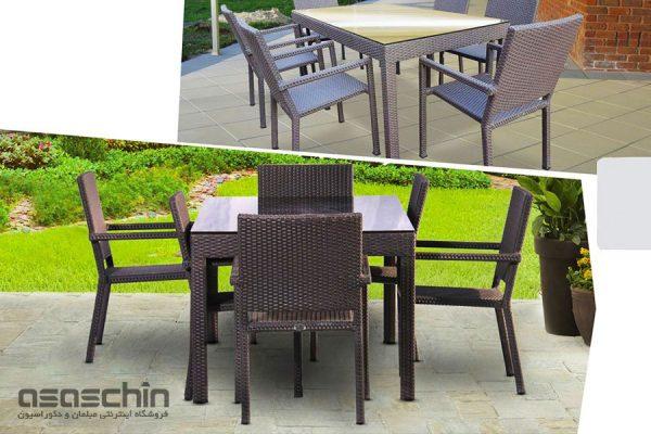 میز و صندلی باغی بولتون