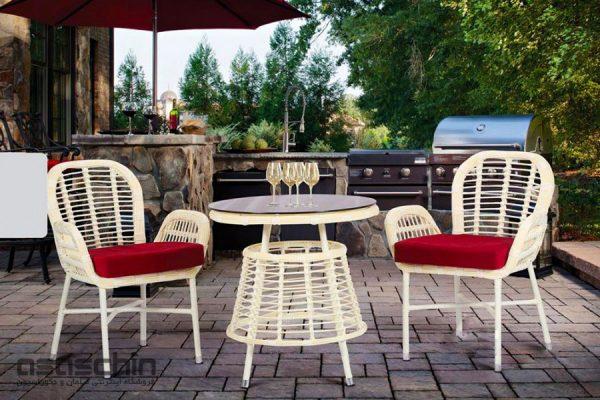 میز و صندلی باغی بیستون