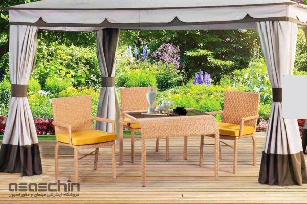 میز و صندلی باغی تورین