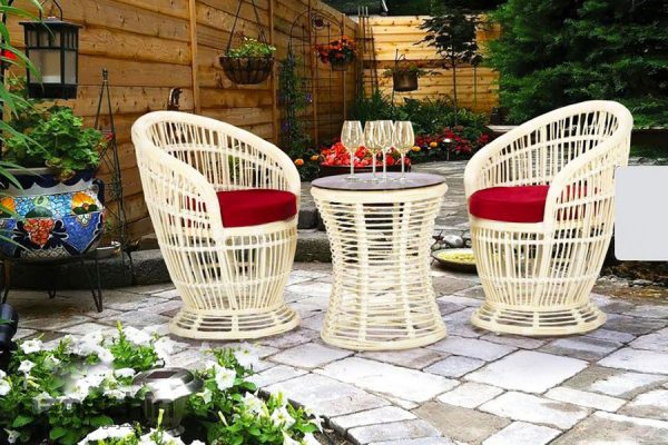 میز و صندلی باغی جولیا