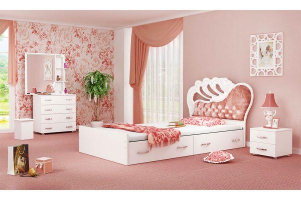تخت خواب یک نفره رومینا