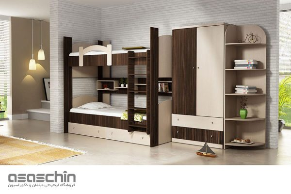 تخت خواب دو طبقه رویال