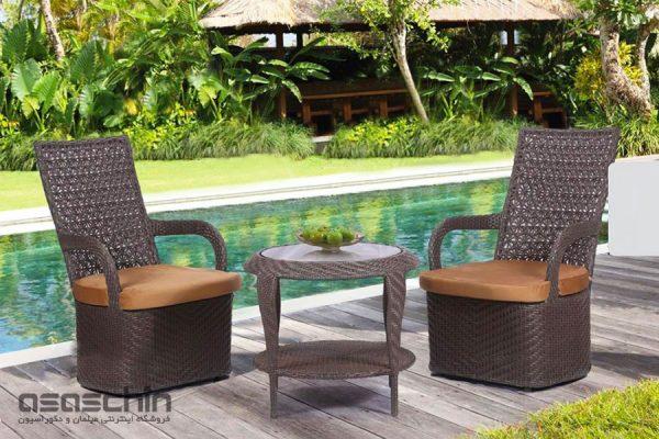 میز و صندلی باغی سانتیاگو