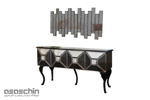میز کنسول و آینه پاتریس