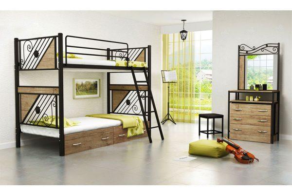 تخت خواب دو طبقه پاتریک