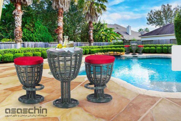میز و صندلی باغی پینتون