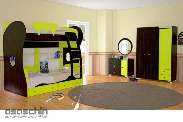 تخت خواب دو طبقه کاپا