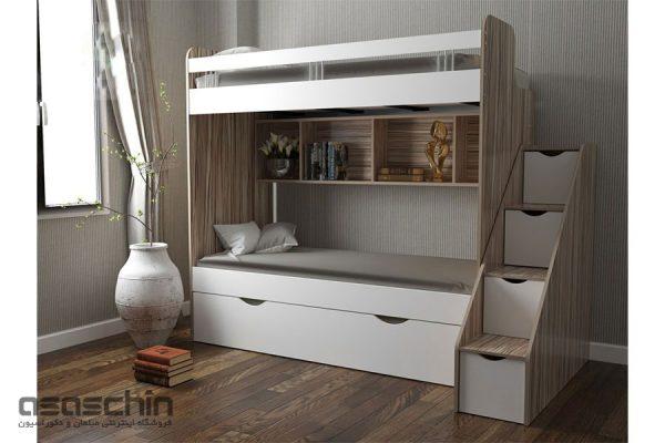 تخت خواب دو طبقه گالا